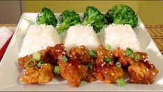 how to make orange chicken recip