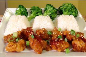 how to make orange chicken recip